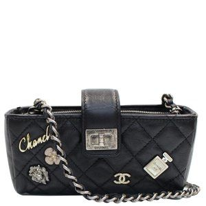 CHANEL REISSUE LUCKY CHARM QUILTED LEATHER CHAIN
